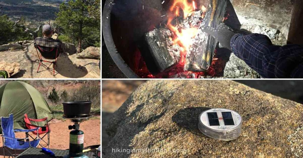 space saving camping ideas and gear