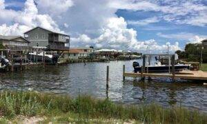 the bay side of Dauphin Island is perfect for fishing
