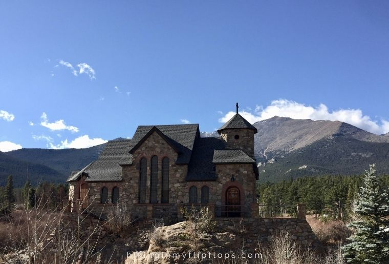 the chapel on the rock in Colorado