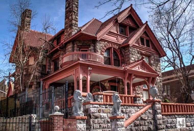 Molly Brown museum in Denver CO