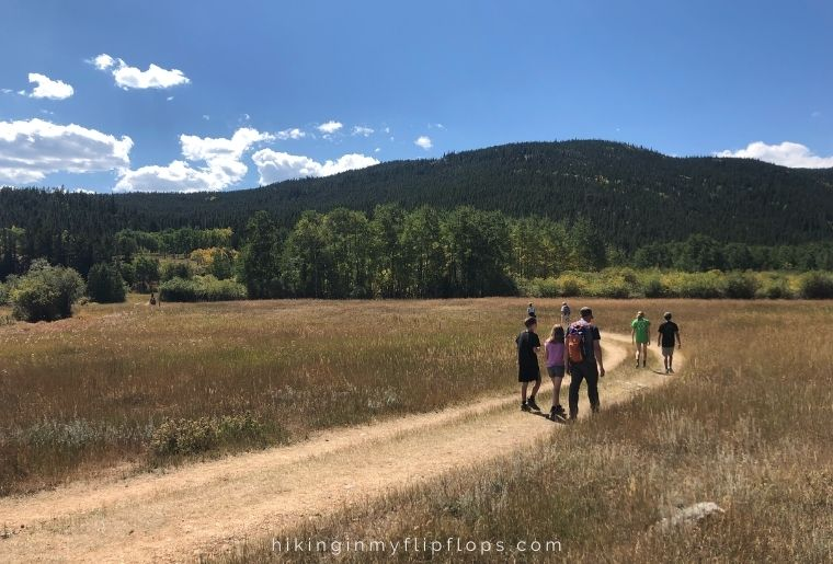 Caribou Ranch Open Space in Nederland CO