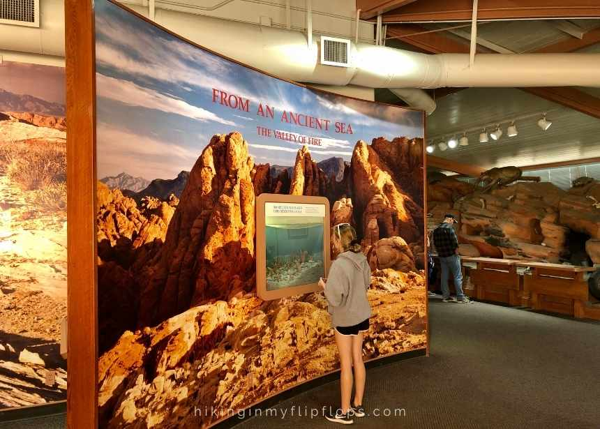visitor center at valley of fire state park