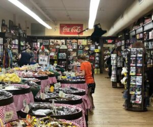 kids shopping for candy at mast general store is a favorite of things to do in winston salem nc