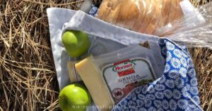 fruit meats and cheeses for hiking snacks