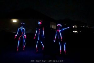 bring out the glow sticks for the best of night time camping activities