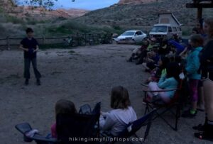 skits are a fun night time camping activity
