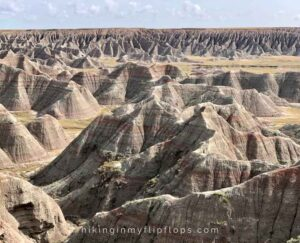 big badlands overlook at badlands national park is one of the top things to do at badlands national park