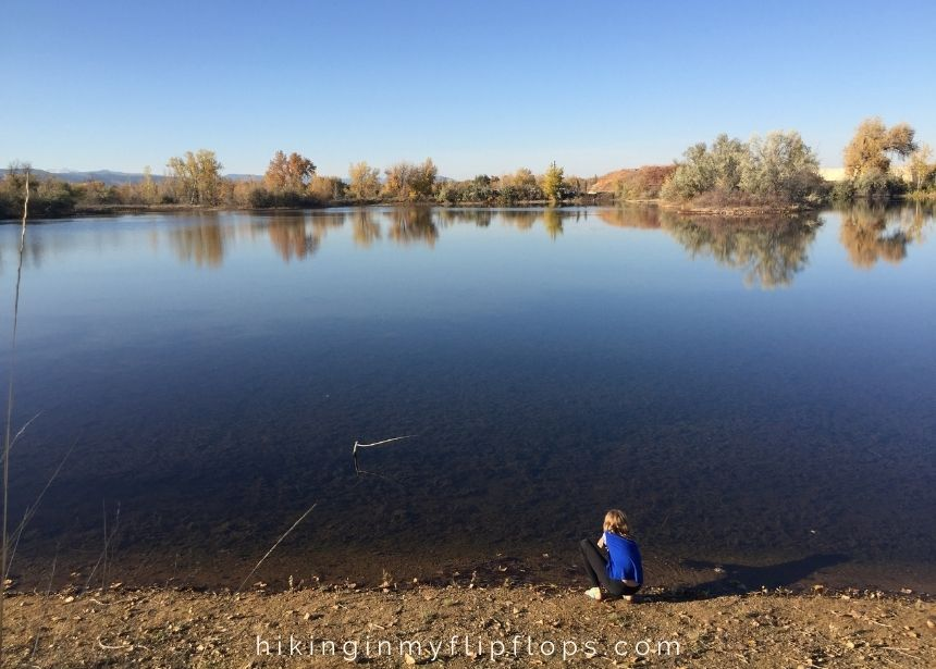 hiking sawhill ponds in east boulder