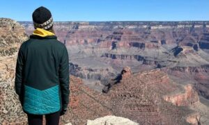 taking in the views of the Grand Canyon is one of the highlights of spending one day in the Grand Canyon