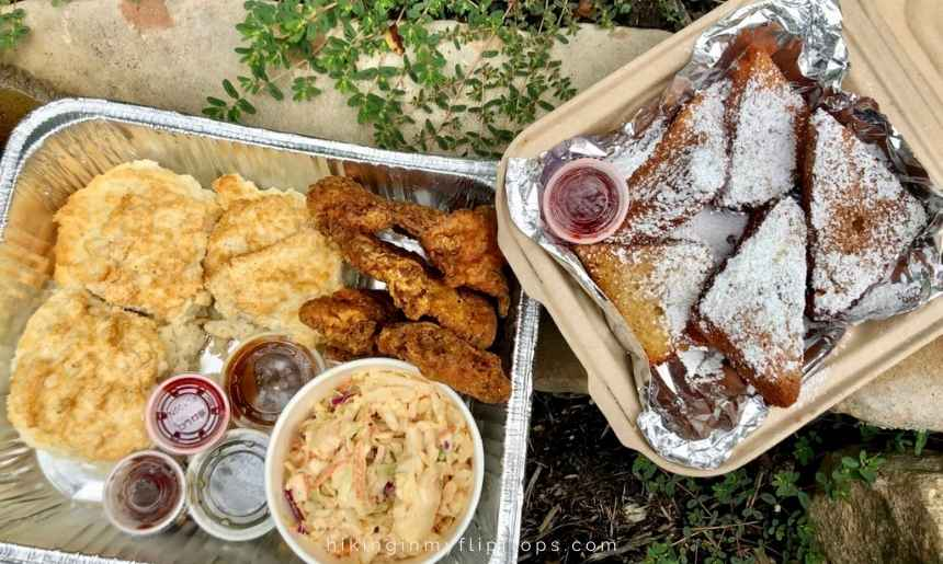 homemade biscuits from Biscuit Head is a must-try on your Asheville NC itinerary